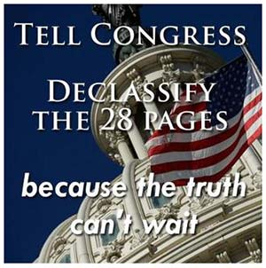 Time to Declassify Truth – Reveal the Secret 28 Pages for 9/11 Transparency