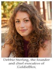 Debbie Sterling founder and CEO