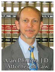 Alan Phillips, J.D. Attorney and Counselor at Law