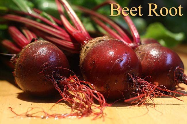 Five health benefits of beetroot
