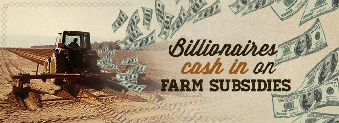 Forbes Fat Cats Billionaires Collect Taxpayer-Funded Farm Subsidies 1995 to 2012