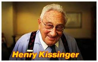Henry Kissinger said: Control oil and you control nations, control food and you control the people.