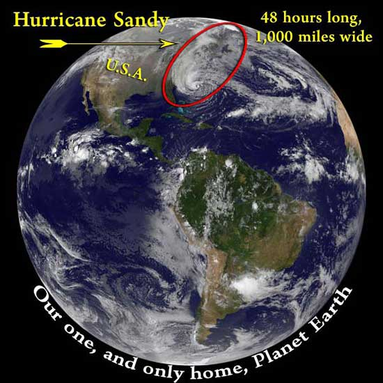 Hurricane Sandy - A Fierce and Devastating Wake-up Call
