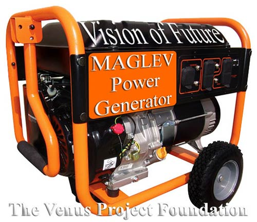 The MagLev 30 kw Power Generator