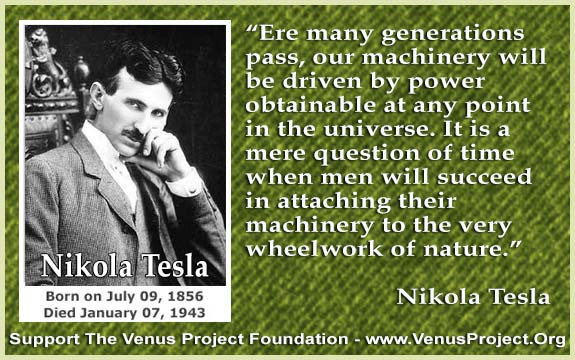 Nikola Tesla, From Looking Back at Rocky Point - In The Shadow of The Radio Towers