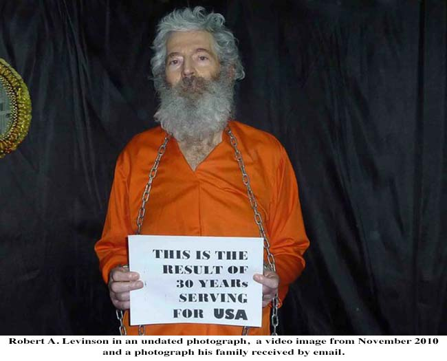 Robert Levinson, A Disappearing Spy, and a Scandal at the C.I.A.