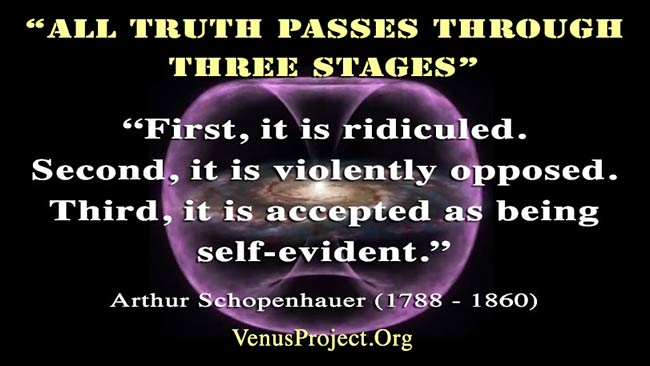 Arthur Schopenhauer - All truth passes through three stages