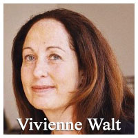 Vivienne Walt lives in Paris and has written for TIME since 2003, from dozens of countries around the Middle East, Africa, and Europe