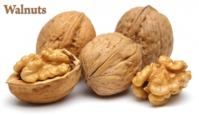Walnuts are the perfect food for our brains