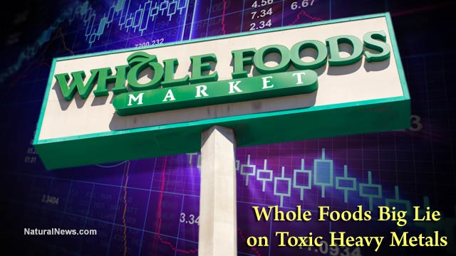 Whole Foods Market WFM stock plunges 20 precent after Natural News reveals Whole Foods - Big Lie - on toxic heavy metals