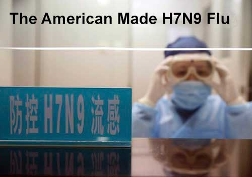 The American Made H7N9 Flu - Chinese colonel says latest bird flu virus is U.S. biological weapon