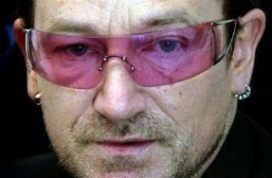U2 group singer, Bono partners with Monsanto, G8, to Biowreck Africa