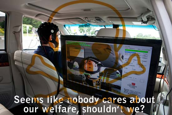 Voice-Activated Technology Is Called Safety Risk for Drivers - Seems like nobody cares about our welfare, shouldn't we