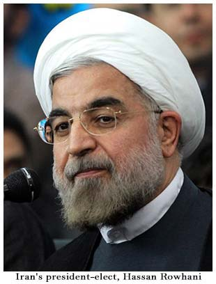 Hassan Rouhani is the newly elected president of Iran