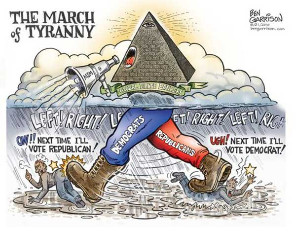 Beyond Left and Right - The March of Tyranny