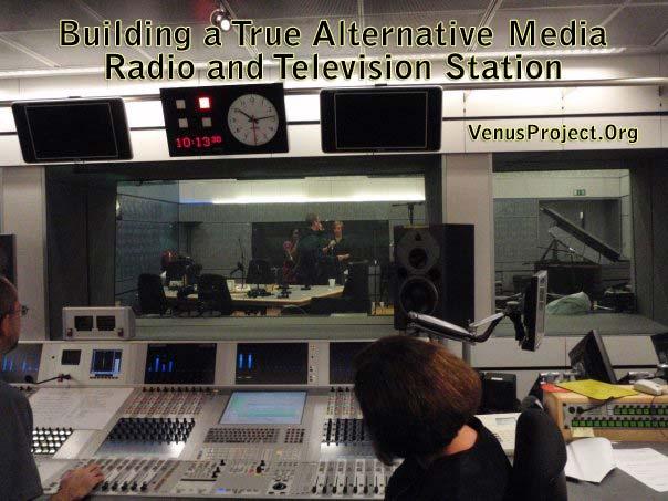 Building a True Alternative Media - Radio and Television Station